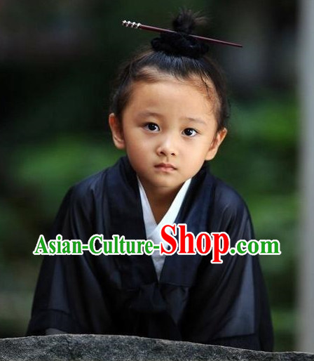 Wudang Mountain Taoist Clothes Robe for Kids