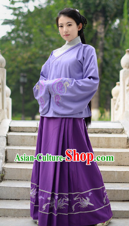 Ming Dynasty Robe Clothes for Women