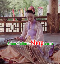 Ancient Korean Palace Musician Costumes Complete Set
