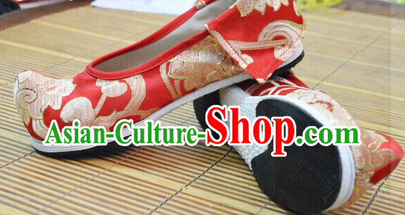 Ancient Chinese Hanfu Shoes for Women