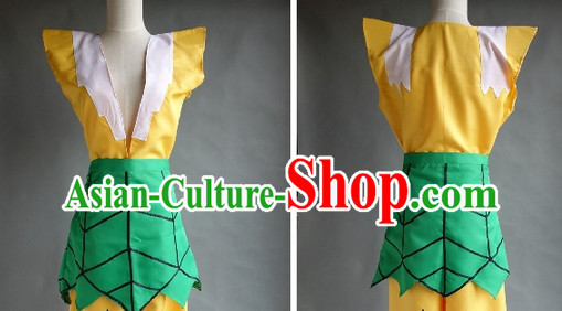 Chinese Stage Performance Gourd Doll Costumes