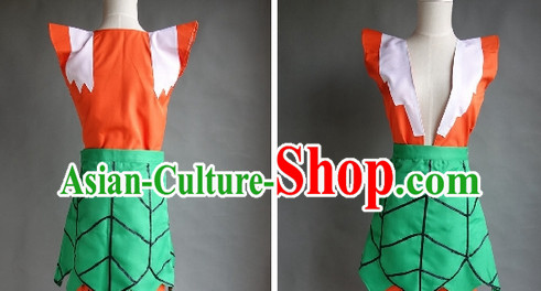 Chinese Stage Performance Gourd Dolls Costumes