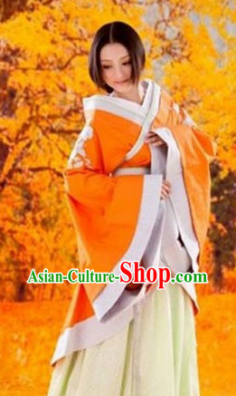 Ancient Chinese Tang Dynasty Robe for Women