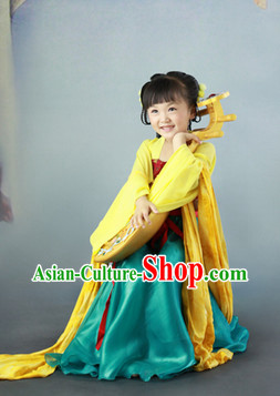 Ancient Chinese Tang Dynasty Kids Clothes