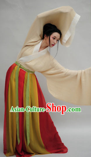 Ancient Chinese Classical Dancing Hanfu for Women