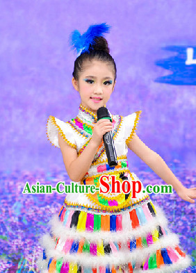 Tibetan Dance Costumes for Kids