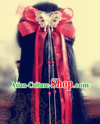 Long Traditional Handmade Hair Lace
