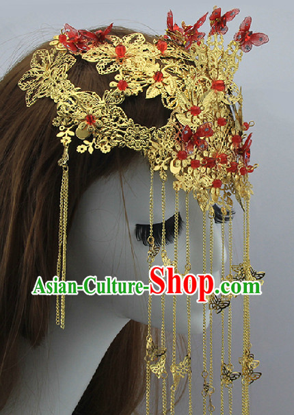 Chinese Traditional Butterfly Phoenix Crown
