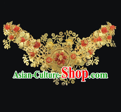 Chinese Classical Wedding Bridal Hair Accessory