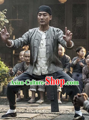 Chinese Kung Fu Master Traditional Outfits