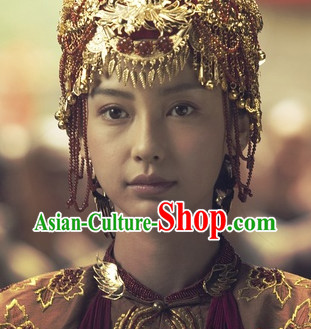 Asian Traditional Wedding Headpieces