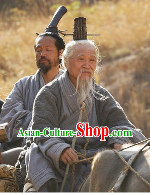 Ancient Chinese Wise Man Dresses and Coronet Complete Set