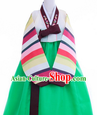 Korean Traditional Hanbok for Teenagers
