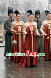 Tang Dynasty Palace Maidservant Costumes