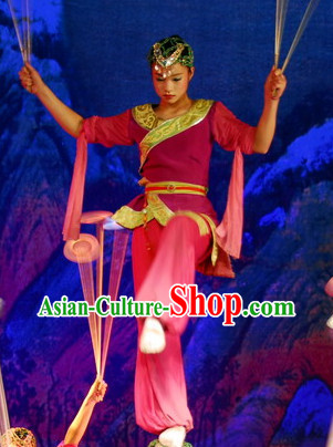 Professional Acrobatics Costumes and Headwear for Women