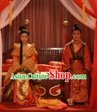 Chinese Traditional Wedding Outfits 2 Sets