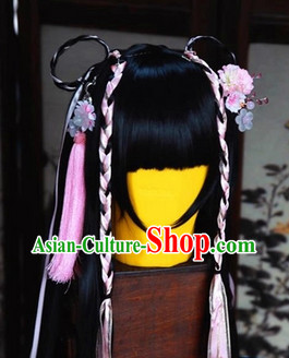 Ancient Chinese Princess Wig and Headwear