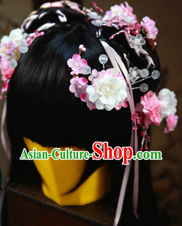 Ancient Chinese Pink Hair Accessories