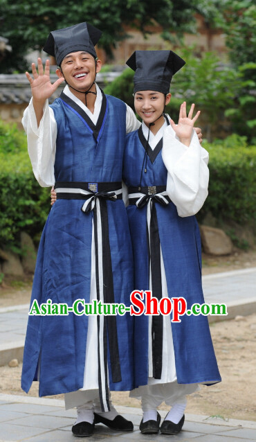 Ancient Korean Students Costumes Complete Set