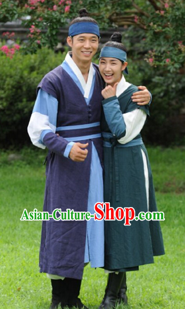Ancient Korean Knight Costumes Complete Set
