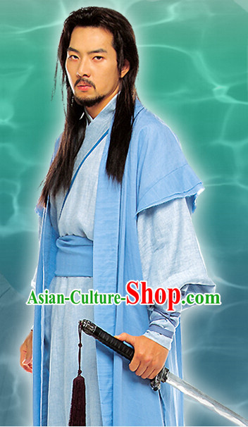 Ancient Korean Swordman Costumes Complete Set