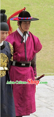 Traditional Korean Official Costumes Complete Set