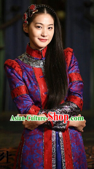 Traditional Korean Female Beauty Costumes Complete Set