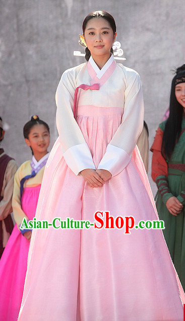 Korean Traditional Clothes for Girls