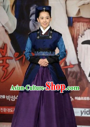 Ancient Korean Traditional Palace Lady Dresses