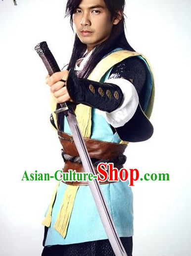 Chinese Traditional Historical Swordsman Costumes for Men