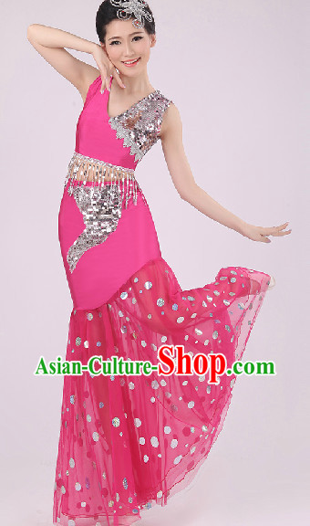 Peacock Dance Costumes for Girls