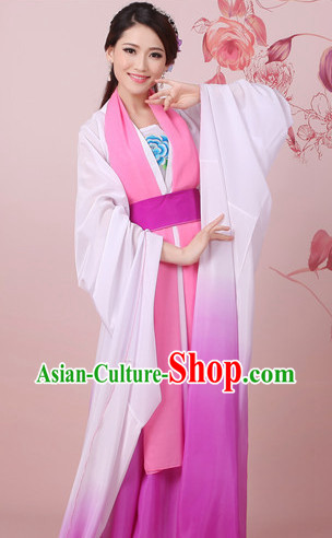 Water Sleeves Traditional Dancewear for Women