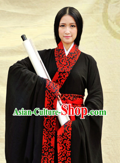 Made-to-measure Han Dynasty Traditional Clothes Complete Set for Women