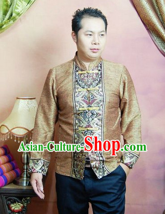 Southeast Asia Traditional Upper Outer Garment for Men