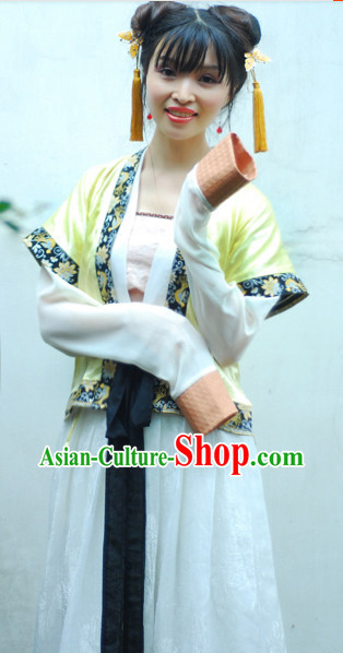 Han Dynasty Traditional Dresses for Girls
