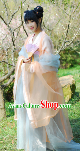 Han Dynasty Female Dresses for Women