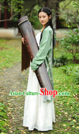 Song Dynasty Musician Female Clothing