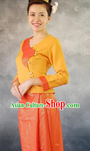 Laos Traditional Clothing for Women