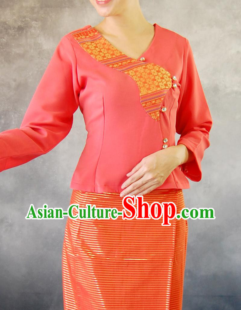 Laos Traditional Dresses for Women