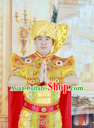 Southeast Asia Traditional Clothes for Men
