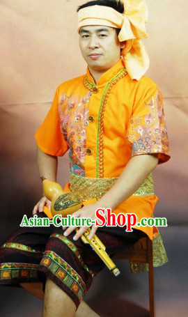 Southeast Asia Traditional Thailand Outfits for Men