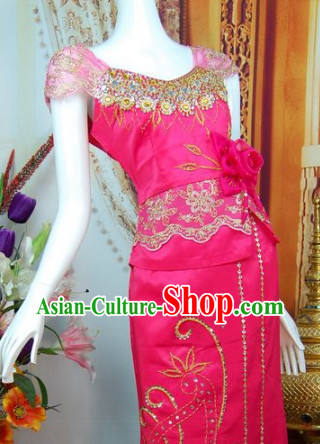 Southeast Asia Traditional Thailand New Arrival Clothing for Women