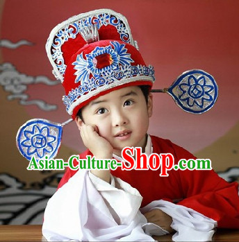 Traditional Classical Opera Costumes and Hat Complete Set for Kids