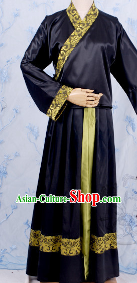 Chinese Black Traditional Clothes for Women