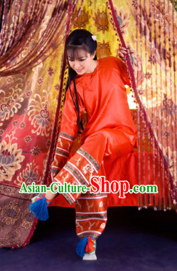 Qing Dynasty Empress Inside Clothing for Girls