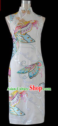 Chinese Silk Butterfly Qipao