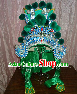 Traditional Chinese Wu Sheng General Hat