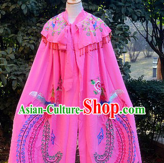 Traditional Chinese Beijing Opera Princess Mantle