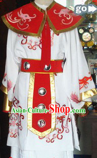Traditional Chinese Embroidered General Costumes for Men