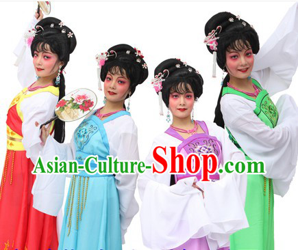 Traditional Chinese New Year Parade Stage Performance Dragon Dancer Costumes for Women